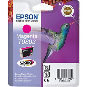 Epson Claria Ink -muste T0803 (magenta)