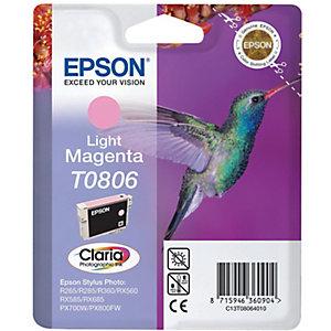 Epson Bläckpatron (ljus magenta) T0806 Claria