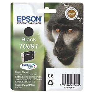 Epson Bläckpatron DuraBrite Ultra T0891 (svart)