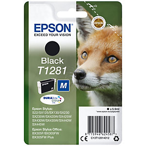 Epson DuraBrite Ultra T128 blekkpatron (sort)