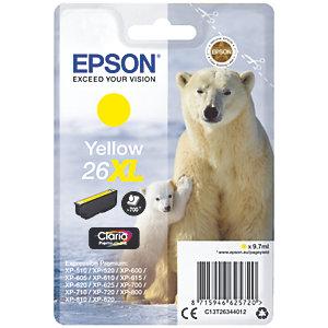 Epson Claria Premium 26 XL mustekasetti (keltainen)
