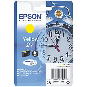 Epson DuraBrite Ultra 27 mustekasetti (keltainen)
