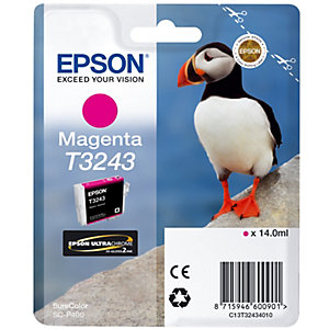 Epson UltraChrome T3243 bläckpatron (magenta)
