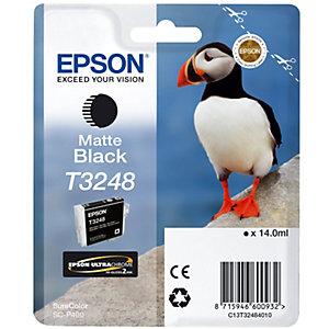 Epson UltraChrome T3248 bläckpatron (mattsvart)