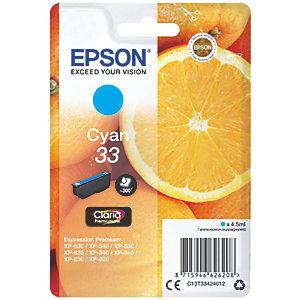Epson Claria Premium 33 blekkpatron (cyan)