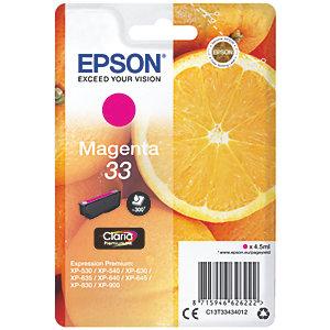 Epson Claria Premium 33 bläckpatron magenta