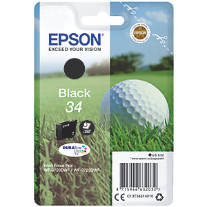 Epson DuraBrite Ultra 34 bläckpatron (svart)