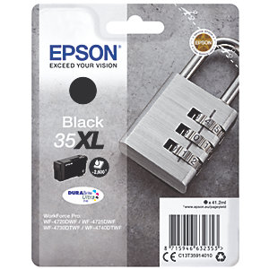 Epson DuraBrite Ultra 35XL bläckpatron svart