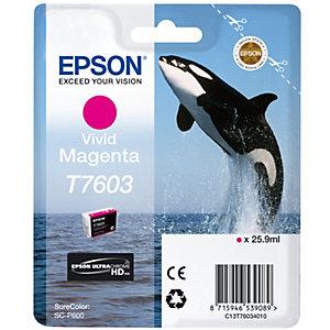 Epson UltraChrome HD T7603 bläckpatron (magenta)