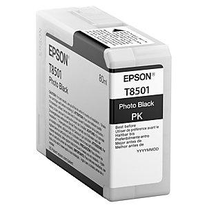 Epson UltraChrome HD T8501 bläckpatron (fotosvart)