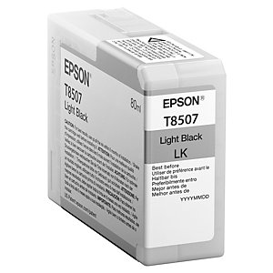 Epson UltraChrome HD T8507 muste (vaalea musta)