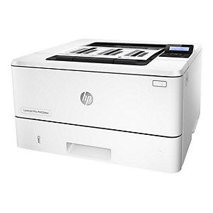 HP LaserJet Pro M402dne sort/hvitt laserskriver