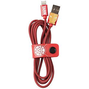 Tribe Lightning-kabel 120 cm (Iron Man)