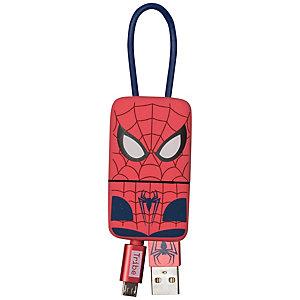 Tribe Keyline Micro USB-kabel (Spindelmannen)