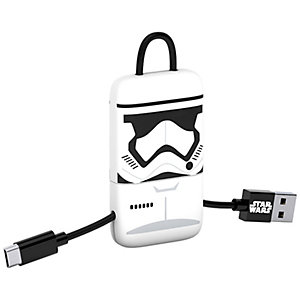 Tribe Keyline Micro USB-kabel (Stormtrooper)