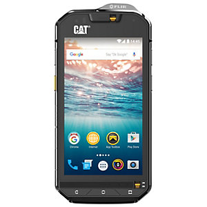 Cat S60 smarttelefon (sort/sølv)