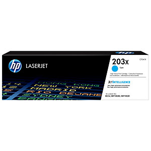 HP 203X Original LaserJet mustekasetti (syaani)