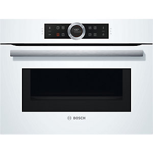 Bosch Kompakt ugn Inbyggnad CMG633BW1 (vit)