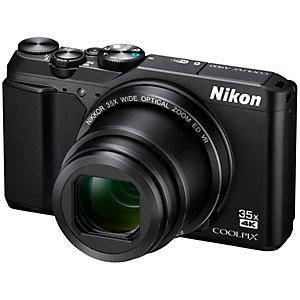 Nikon CoolPix A900 ultrazoomkamera (sort)