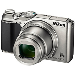 Nikon CoolPix A900 ultrazoomkamera (sølv)