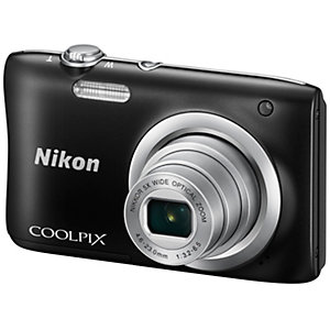 Nikon CoolPix A100 Kompaktkamera (svart)