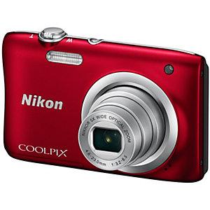 Nikon CoolPix A100 kompaktkamera (rød)