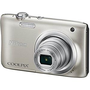 Nikon CoolPix A100 kompaktkamera (sølv)