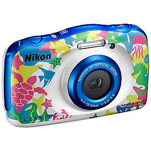 Nikon CoolPix W100 kompaktkamera (marinblå)