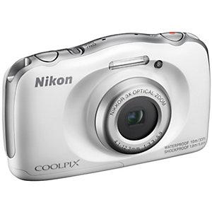 Nikon CoolPix W100 kompaktkamera (vit)