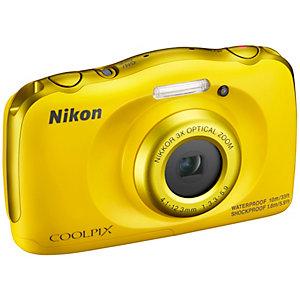Nikon CoolPix W100 kompaktkamera (gul)
