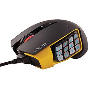 Corsair Scimitar Datormus gaming (svart)