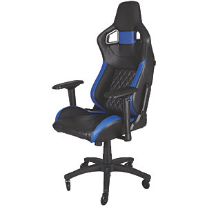 Corsair T1 Race Gamingstol (svart/blå)