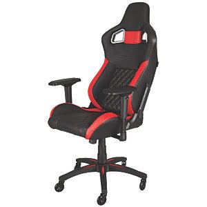 Corsair T1 Race Gamingstol (svart/röd)