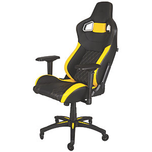 Corsair T1 Race Gamingstol (svart/gul)