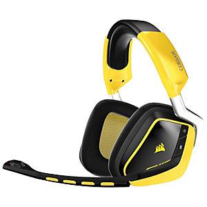 Corsair Void 7.1 trådlöst Gaming Headset (svart/gul)