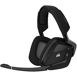 Corsair Void Pro RGB trådløst gaming-headset (sort)