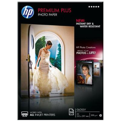 3be95c00 HP Premium Plus fotopapir A4 (20 ark) - Blekk og toner - Elkjøp