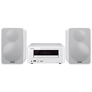 Onkyo Hi-Fi Mini stereosystem (hvit)