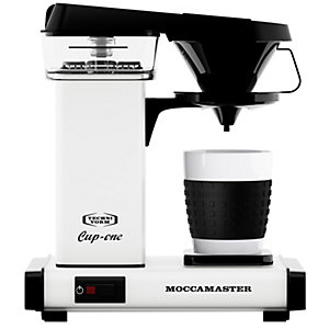Moccamaster Cup One Kaffebryggare (vit)