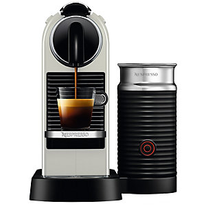 Nespresso Citiz & Milk kapselmaskin D122 (hvit)