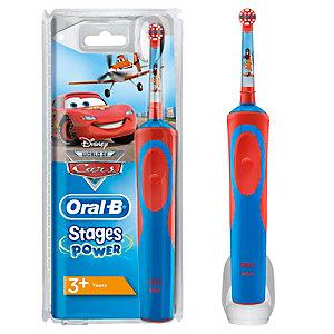 Oral B Vitality Kids Biler elektrisk tannbørste D12