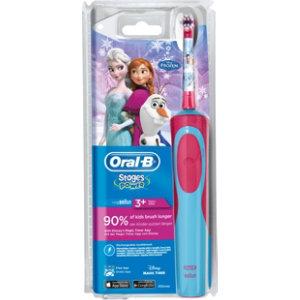 Oral-B for Kids Vitality D12 Frost elektrisk tannbørste - Tannbørster -  Elkjøp c1490cf2d41bd