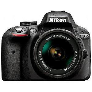 Nikon D3300 Systemkamera + 18-55 mm AF-P DX-objektiv