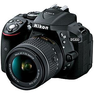 Nikon D5300 SLR kamera + 18-55 mm AF-P DX objektiv