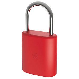 Dog&Bone LockSmart Mini Bluetooth Hänglås (röd)