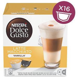 Nescafè Dolce Gusto Vanilla Latte Macchiato kaffekapsel