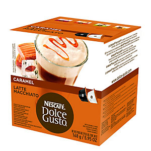 Nescafe Dolce Gusto Caramel Latte Macchiato kapselit