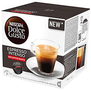 Nescafe Dolce Gusto Kapslar - Espresso Intenso Decaf