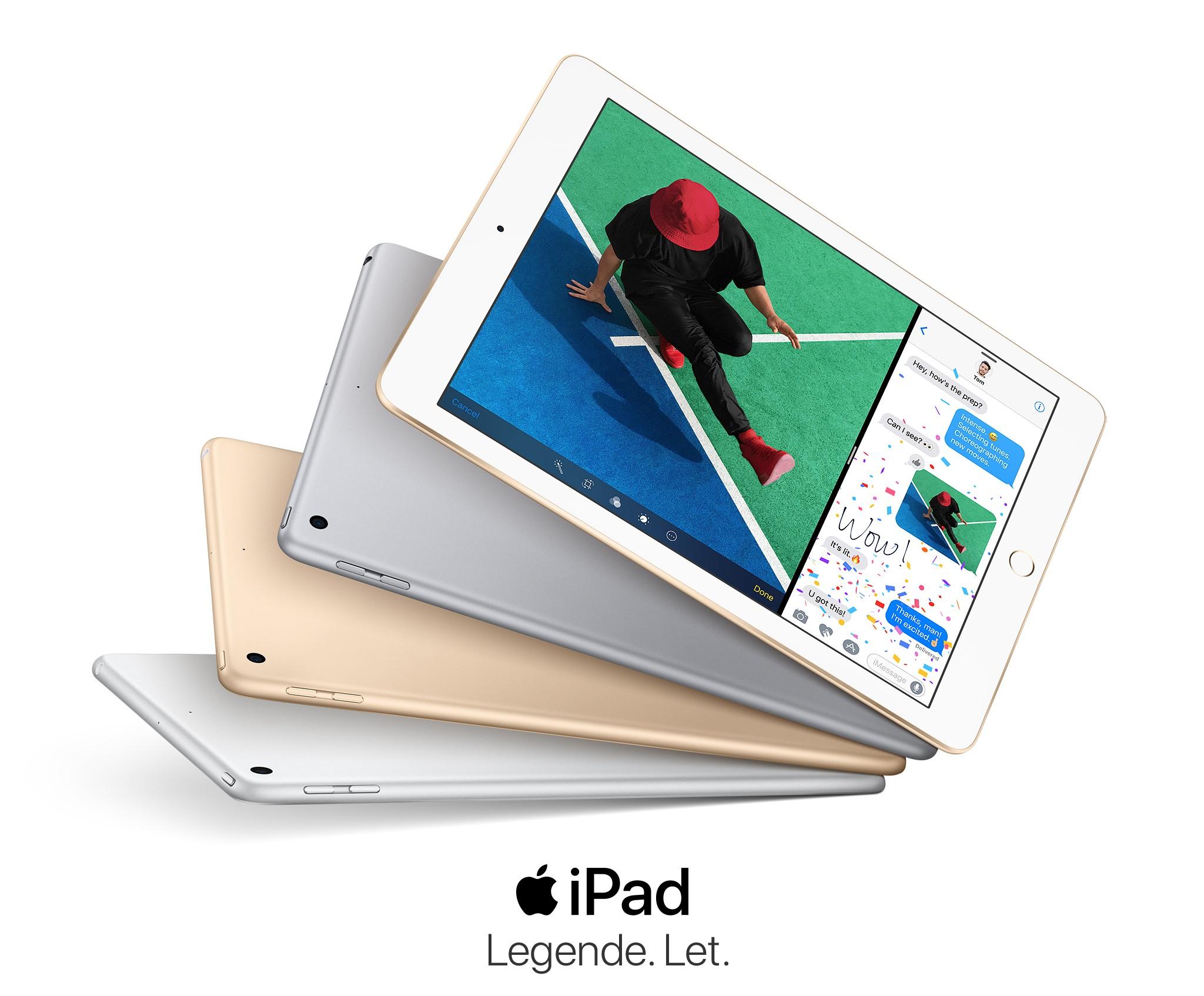iPad - Legende let