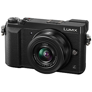 Panasonic Lumix DMC-GX80 digitaalikamera (musta)